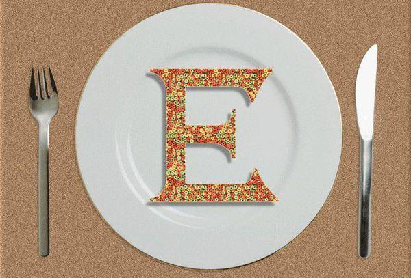 Пищевые добавки с пометкой «Е»