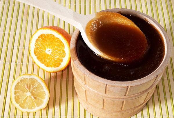 Гречишный мед с лимоном