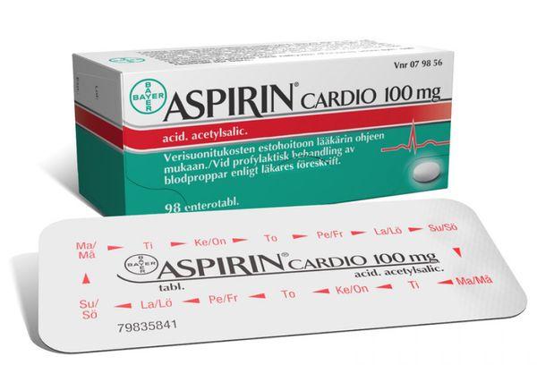 Препарат Кардиоаспирин