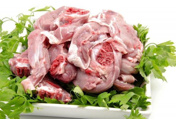Свежее козье мясо