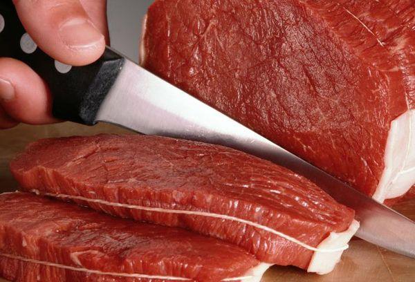 Сырое мясо медведя