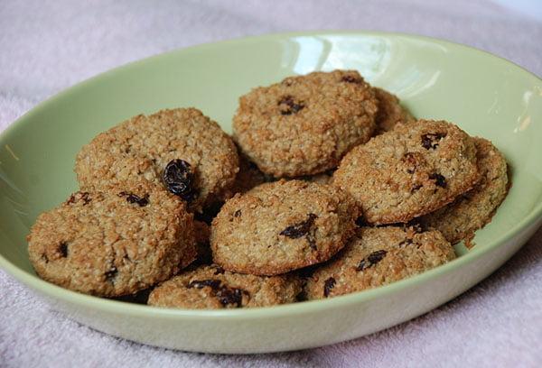 Печенье с овсяными отрубями