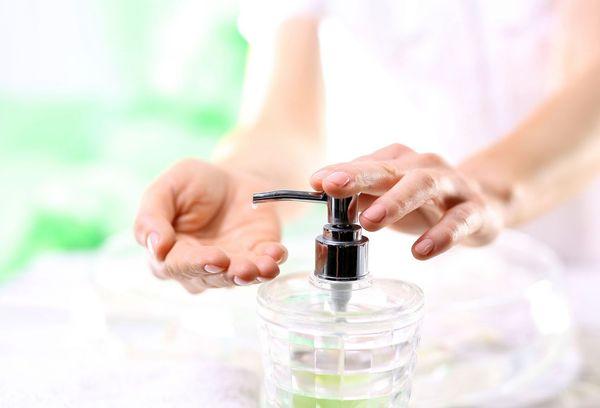применение жидкого мыла
