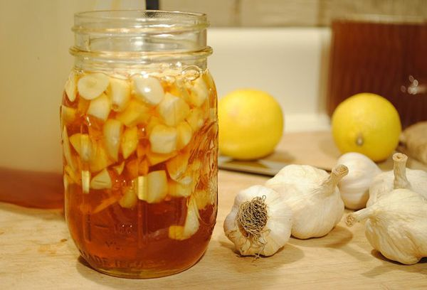 настойка из чеснока на яблочном уксусе