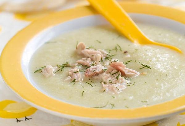 Детский суп с индейкой