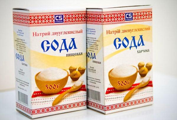 Пищевая сода крымского производства