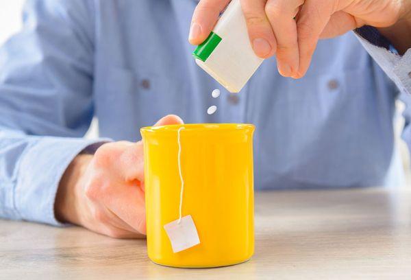 применение сахарозаменителя в чае