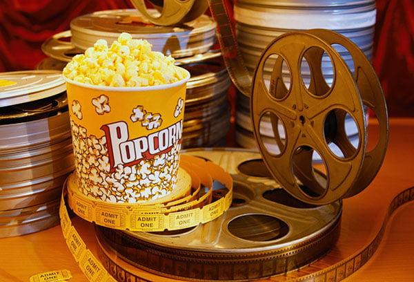 Попкорн и кинопленка