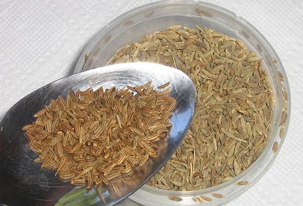Дозировка семян тмина
