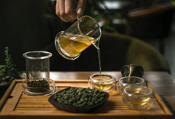 Чай с женьшенем