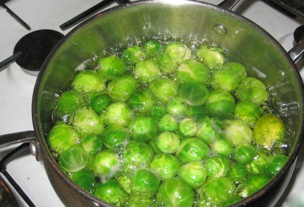 отваривание брюссельской капусты