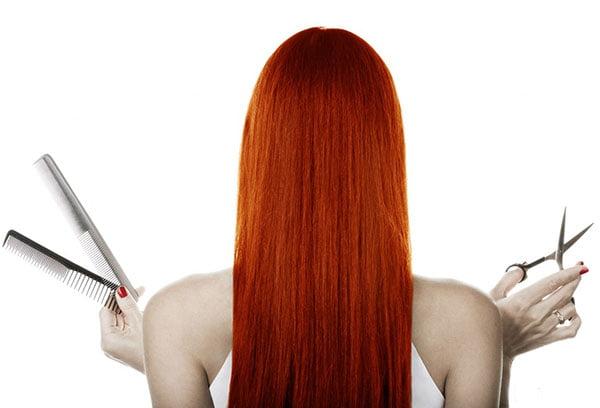 Волосы, тонированные луковой шелухой