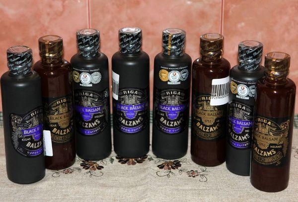 Бальзам Рижский Черный со вкусом черной смородины