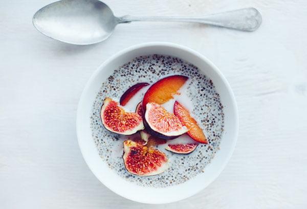 Завтрак с семенами чиа