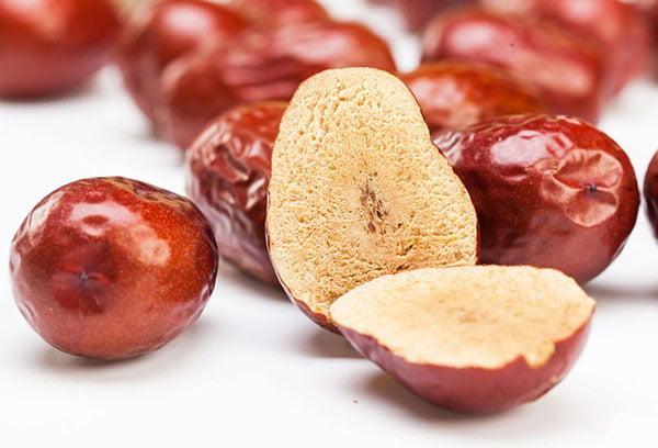 Плод зизифуса в разрезе