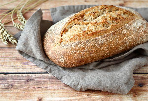 Хлеб без добавления дрожжей