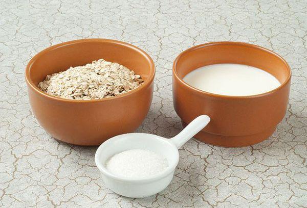 ингредиенты для приготовления каши