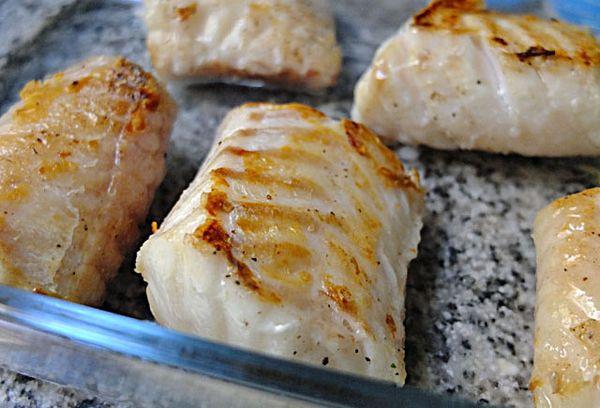 креветочная рыба жаренная