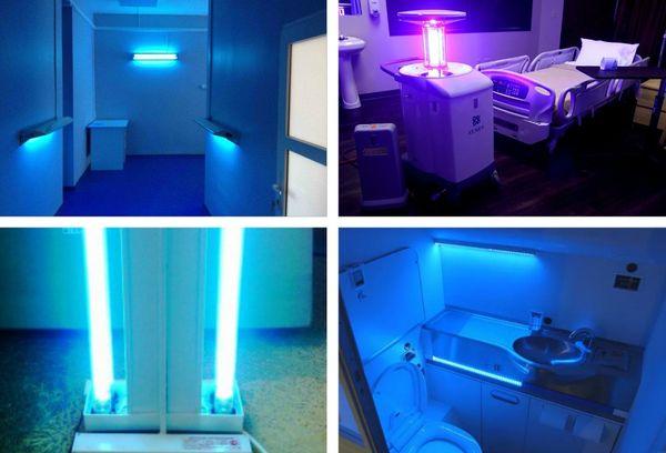 Установка кварцевой лампы в помещениях