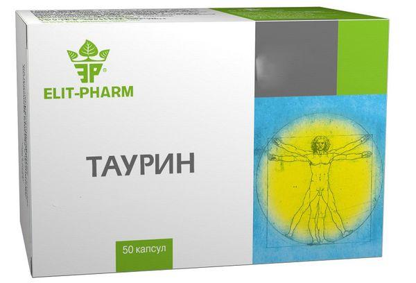таблетки таурин