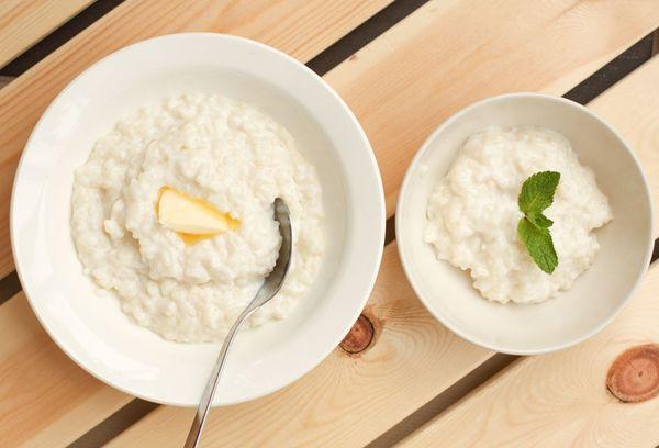 каша из риса на молоке