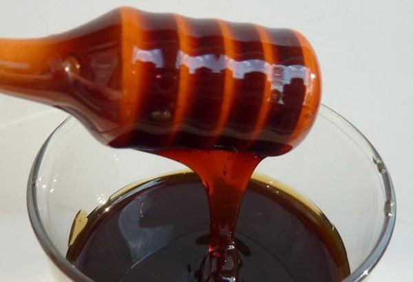 Темный каштановый мед