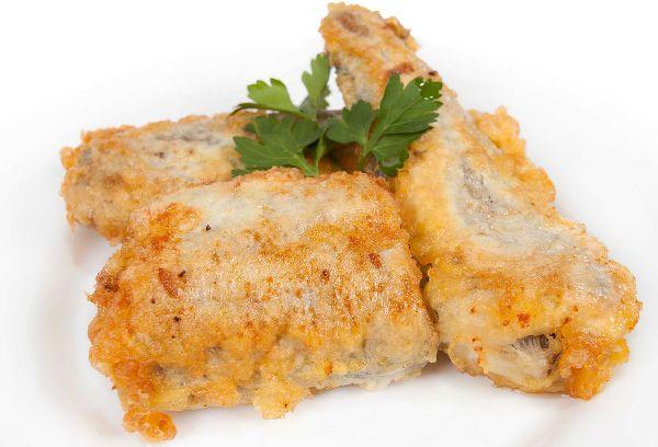 жаренная рыба минтай