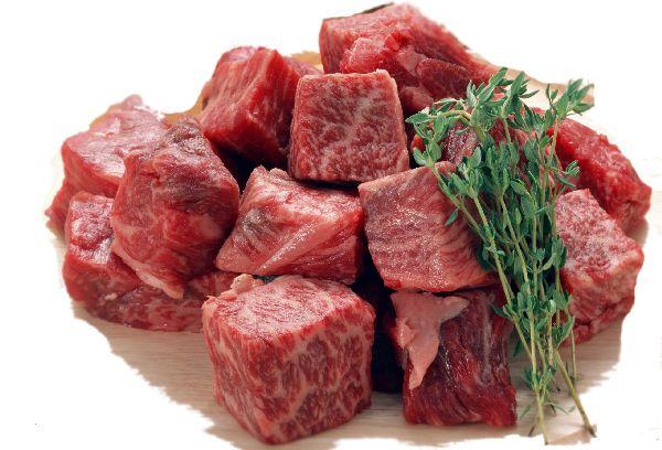кусочки говяжьего мяса
