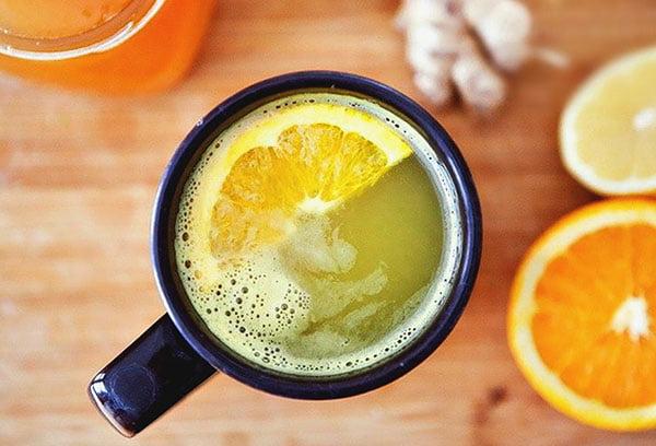 Напиток с лимоном и медом