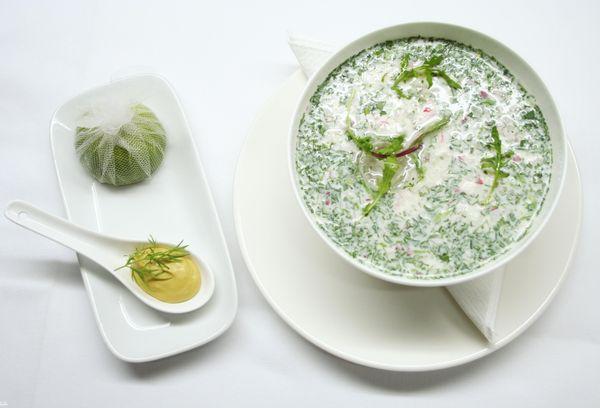 Суп с айраном