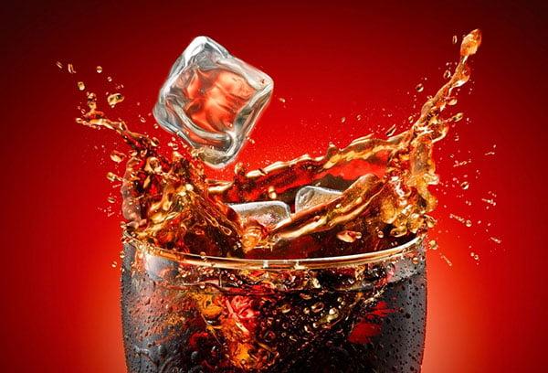 Кока-кола со льдом