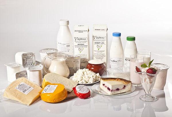 Промышленные молочные продукты