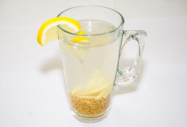 Напиток с семенами пажитника