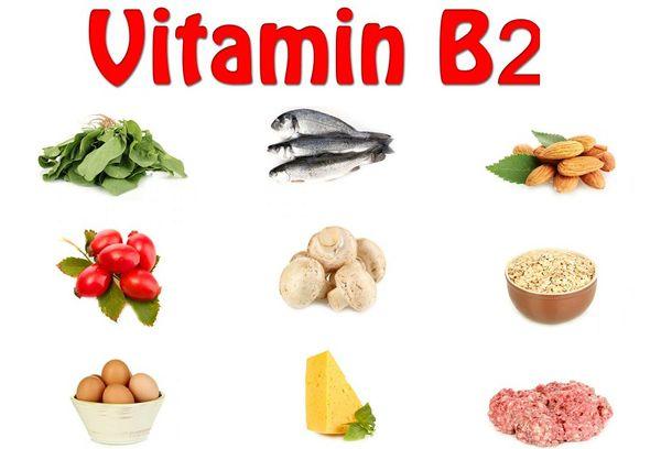 Продукты содержащие Рибофлавин В2