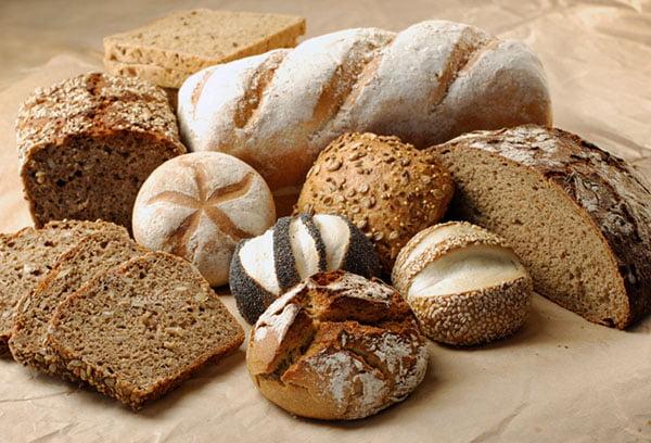 Разные виды хлеба