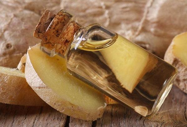 Имбирь и кунжутное масло