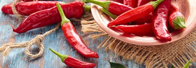 Польза и вред красного перца чили