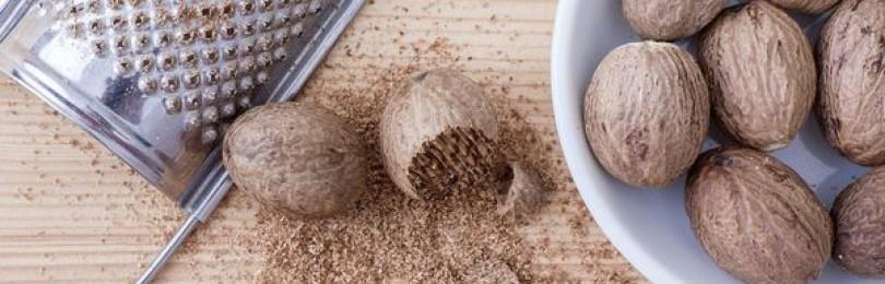 Польза и вред и мускатного ореха