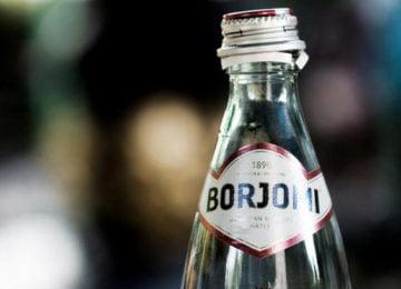 Бутылка боржоми