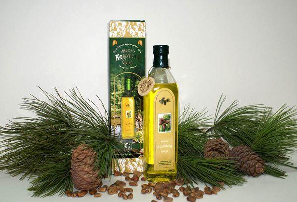 Кедровое масло ручного отжима