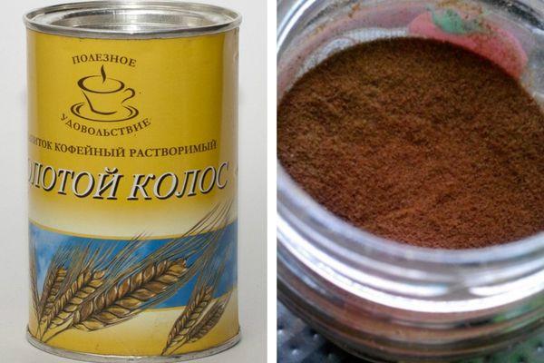 Напиток кофейный растворимый Золотой колос