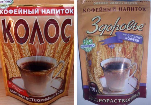 Растворимый кофе Золотой колос