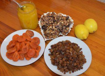 ингредиенты для витаминной смеси