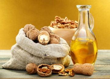 Грецкие орехи и масло из них