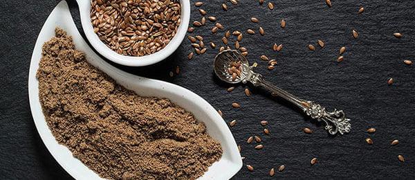 Льняная мука и семена льна