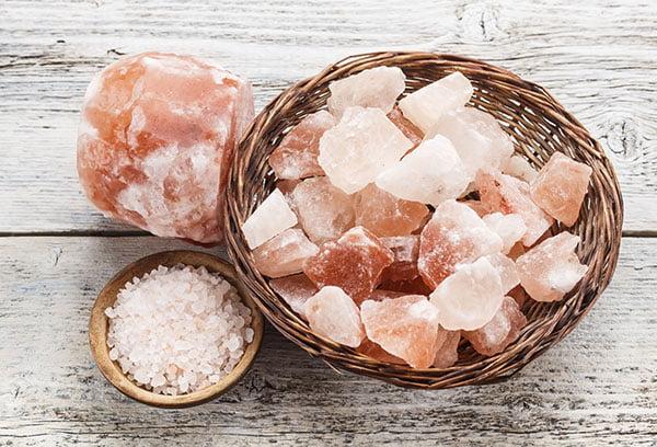 Кристаллы гималайской соли