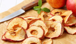Сушеные яблоки