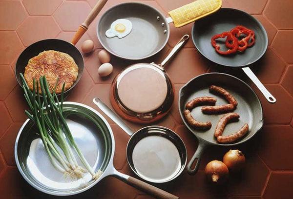 Различные сковороды