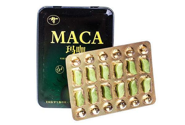 Китайские таблетки с макой перуанской