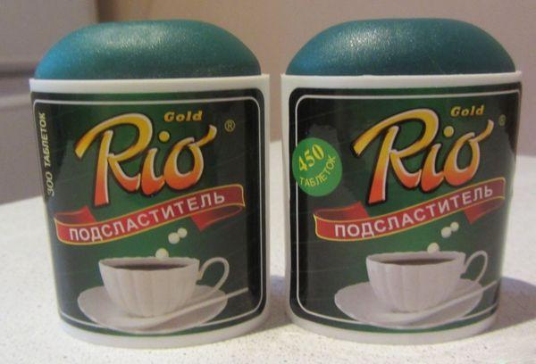 сахарозаменитель Рио Голд